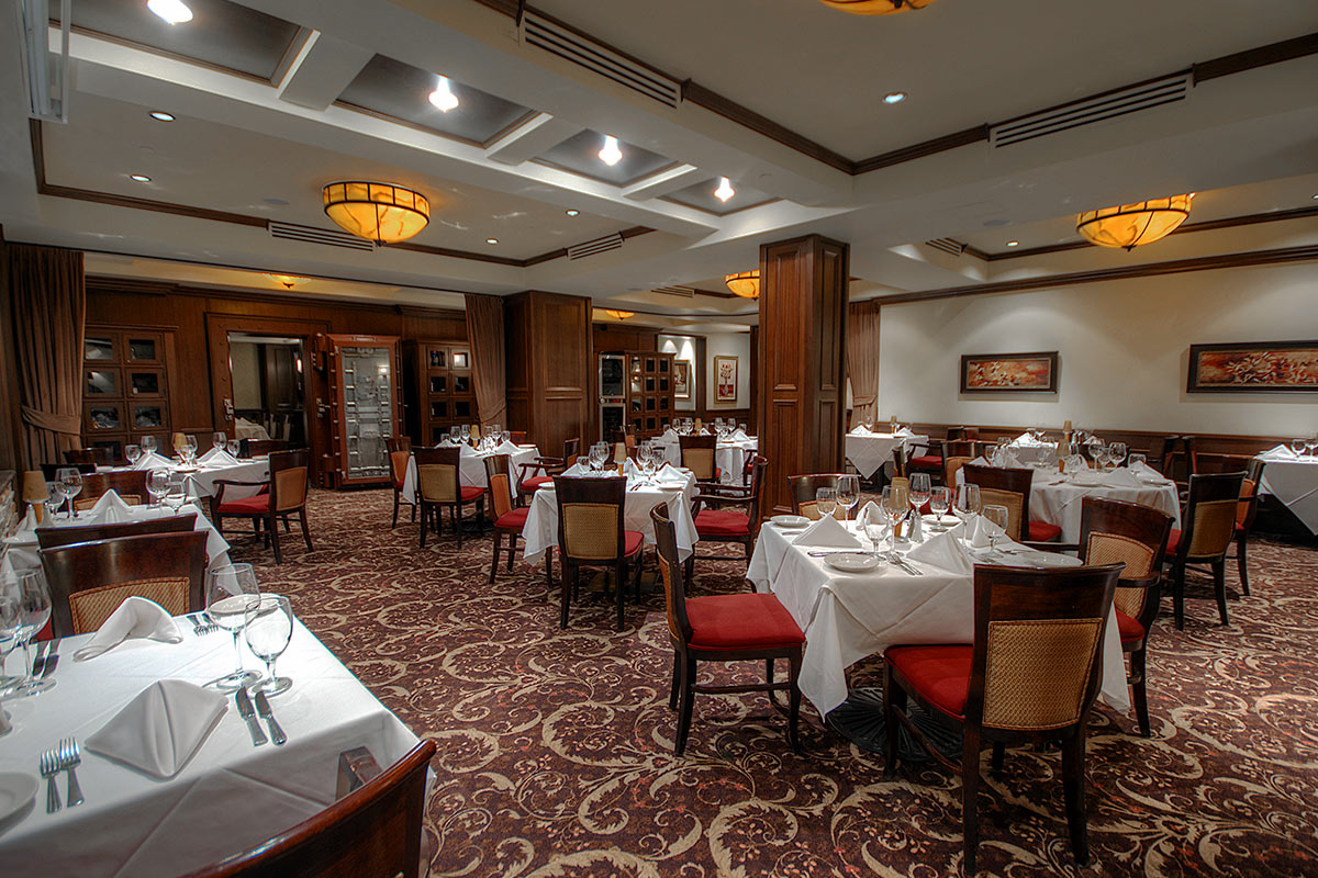 edmonton private dining rooms at ruth 39 s chris steakhouse