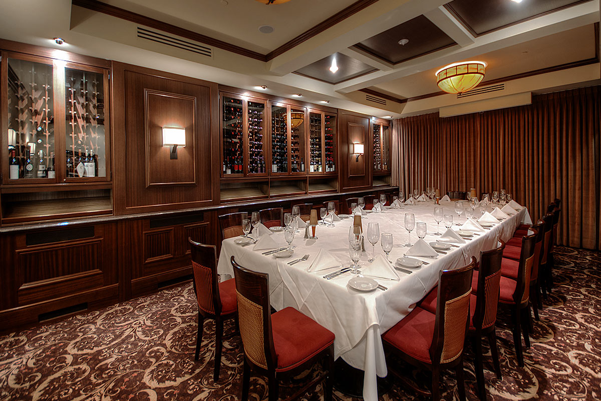 Private Dining Rooms Edmonton